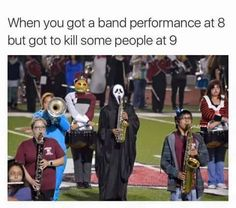 Camping Quotes Funny Humor Lol 63 Ideas For 2019 Funny Band Memes, Marching Band Memes, Band Jokes, Stupid Funny Memes, Funny Relatable Memes, Memes Humor, Haha Funny, Hilarious, Marching Band Problems