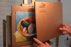 The spacers allow you to place the lid right over your wet painting. Being Used, Paper Shopping Bag, Paintings, Artist, Products, Paint, Painting Art, Artists, Draw