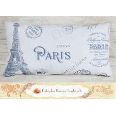 poduszka paris vintage Paris Vintage, Bed Pillows, Pillow Cases, Pillows
