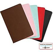 """Martha Stewart Home Office™ with Avery™ Classic Smooth-Finish Journal, Brown, 5-1/2"""" x 8-1/2"""""""