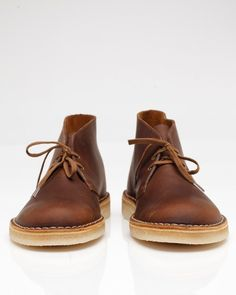 Clarks Desert Boot In Beeswax. These will go swimmingly with jeans or khakis.
