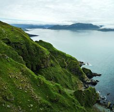 """Green carpet"" - Runde Island, Norway;  photo  by *helmen (David Helan), via Flickr"