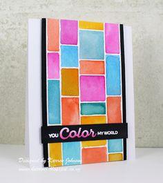 KarrenJ - Stamping Stuff: Color My World
