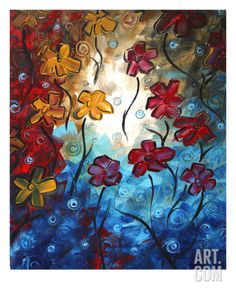 Bold Statement Giclee Print by Megan Aroon Duncanson at Art.com