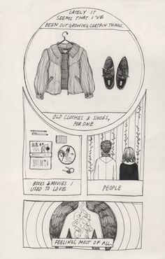 slug girl, charleskinbote:   comic attempt #2 (since you all...