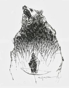 Mirage and the Demon Bear by Bill Sienkiewicz