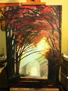 easy-acrylic-paintings-of-treesthe-creating-odyssey----painting-of-trees-xtlob59g.jpg (550×736)