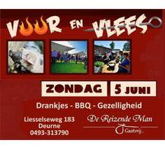 Barbecue evenement Vuur en Vlees.