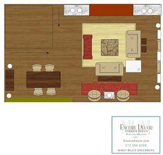Order your custom designed floor plan here: EncoreDecorBlog.com