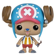 Funko POP Anime: One Piece Chopper Action Figure. From the hit anime One Piece, Chopper, as a stylized POP vinyl from Funko!. Stylized collectable stands 3 3/4 inches tall, perfect for any One Piece fan!. Collect and display all One Piece and anime Pop! Vinyls!.