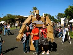 Turn Yourself into a Giant Cardboard Robot