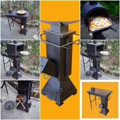 Rocket Stove Design, Diy Rocket Stove, Rocket Stoves, Metal Projects, Welding Projects, Diy Wood Stove, Stove Heater, Metal Fabrication, Firewood