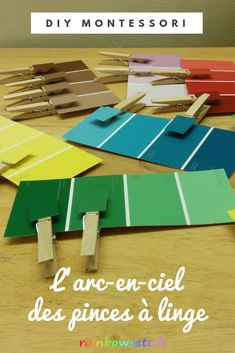 L'arc-en-ciel des pinces-à-linge – Rainbows etc Kindergarten, Minis, Busy Bags, Toddler Activities, School Supplies, Preschool, Teaching, Education, Ciel