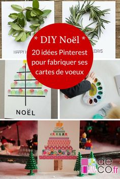 diy no l fabriquer une carte de v ux noel pinterest vid os d co et bricolage. Black Bedroom Furniture Sets. Home Design Ideas