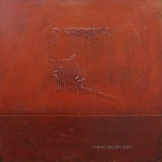 square format - KAREN JACOBS  contemporary and abstract paintings