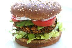 veggie burger-yum