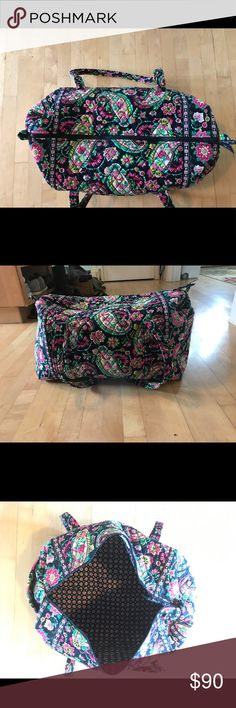 Large Paisley retired Vera Bradley tote, like new Large Paisley retired Vera Bradley tote, like new Vera Bradley Bags Totes