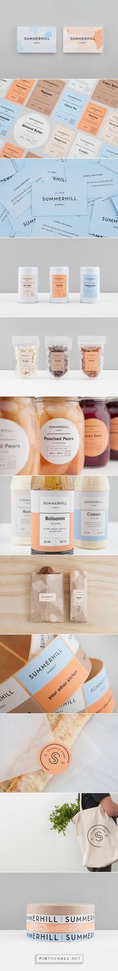 New Brand Identity for Summerhill Market by Blok — BP&O - created via https://pinthemall.net