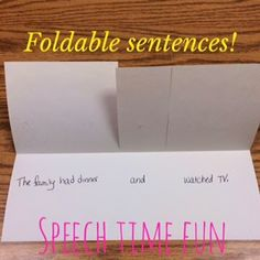 Creating sentences?