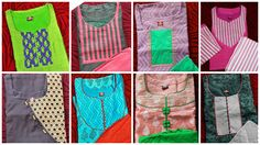 How to make different types of kurthi neck patterns Courtesy:Eves world Boutique Kottayam Kurtis have become a very integral outfit it Indian fashion industry. From parties to casual wear for your work everyday, kurtis have become a big fashion statement. The ease of collaborating bright hues wi