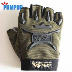 Men's Half Finger Gym Training Weight Lifting Gloves