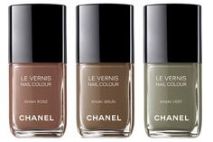 Chanel Le Vernis Khaki Collection 2010 Fashions Night Out