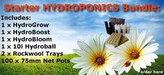 MyAquaponics - SPECIAL- Starter Hydroponics Bundle, R420.00 (http://www.myaquaponics.co.za/special-starter-hydroponics-bundle/)
