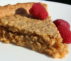 Sugar and oatmeal pie. Apple Desserts, No Bake Desserts, Delicious Desserts, Dessert Recipes, Yummy Food, Mug Recipes, Cooking Recipes, Recipies, Pie Crust Designs