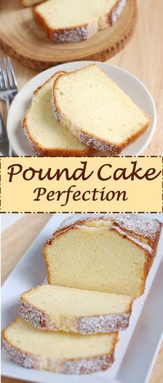 After months of research and testing I created Pound Cake Perfection. This is th… After months of research and testing I created Pound Cake Perfection. This is the ultimate old-fashioned, buttery pound cake that melts-in-your mouth. Just Desserts, Delicious Desserts, Dessert Recipes, Awesome Desserts, Picnic Recipes, Dessert Food, Dessert Tables, Health Desserts, Recipes Dinner