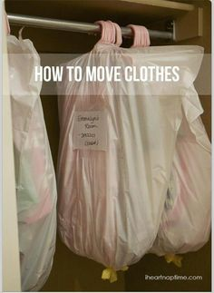 Moving clothes