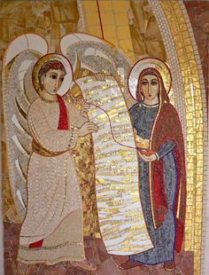 L'annunciazione  Pontificio Collegio Sloveno  Roma - Italia  novembre 2010