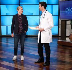 Finola & Matt on Ellen 1-23-18
