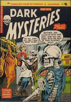Dark Mysteries comics