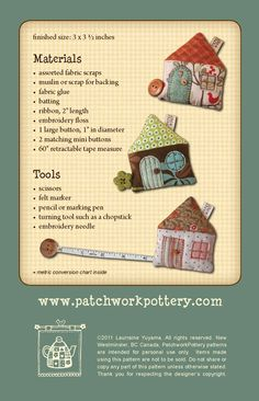 PatchworkPottery: tape measures