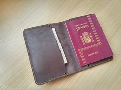 Items similar to Passport leather cover/ Gift for him / Gift for her/ Travel accessories on Etsy Leather Label, Leather Cover, Tan Leather, Coin Purse Wallet, Pouch, Monogram Gifts, Waxed Canvas, Travel Accessories, Gifts For Him