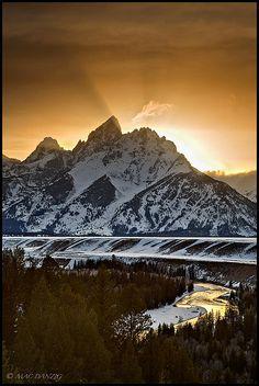 Grand Teton National Park, Wyoming; photo by Mac Danzig