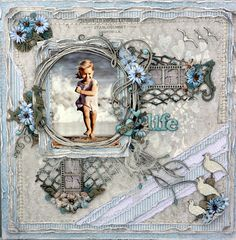 RACHELLE Life's little Embellishments: Love Life ****Dusty Attic Mood Board June***