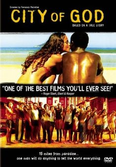 The poster is about the movie City of God, a Brazilian crime drama, that received 4 Oscar nominations. The movie is one of the best foreign language films I have seen.