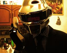 Daft Punk   Self Made Thomas Bangalter Helmet | By Mauricio Santoro