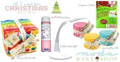 Visions of Sugar Plums « Moda Bake Shop {Oda May's Christmas Wish List}