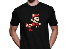 Playeras Gamer Geek: Playera Mario Bros 3 8bits - Kichink!