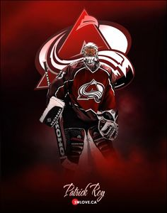 Patrick Roy Hockey Teams, Ice Hockey, Erik Johnson, Goalie Mask, Colorado Avalanche, National Hockey League, Montreal Canadiens, Denver Broncos, Sports