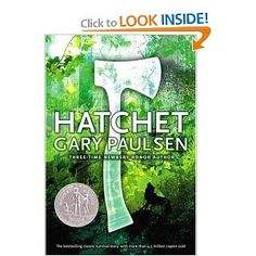 Hatchet by Gary Paulson is one of my favorite YA books. Paulson has several other books based on the character in Hatchet, and all of them have been great reads. This one remains my favorite.