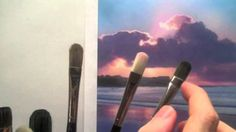 How to choose acrylic paint brushes - Acrylic painting techniques