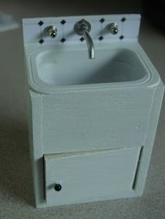 minicrochetmad: How to make a Laundry Sink