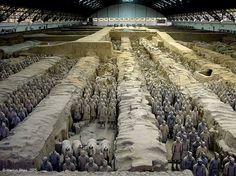 Terracotta Warriors - Xian China