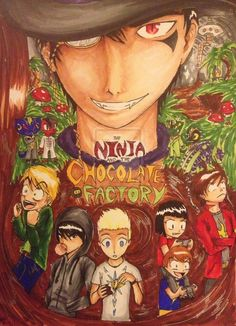The Ninja and the Chocolate Factory by prpldragon on deviantART