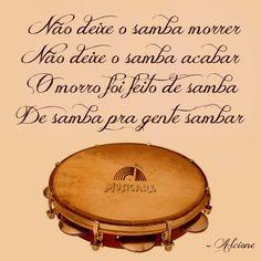 Não Deixe o Samba Morrer - Alcione (Composição: Edson Conceição / Aloísio)