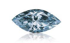 Blue diamond. GIA (080414)