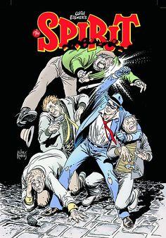 Spirit  Comic Book Artist : Joe Kubert